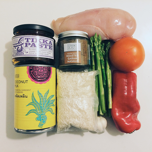 Simple Chicken Curry makings (pellissimo.ee)