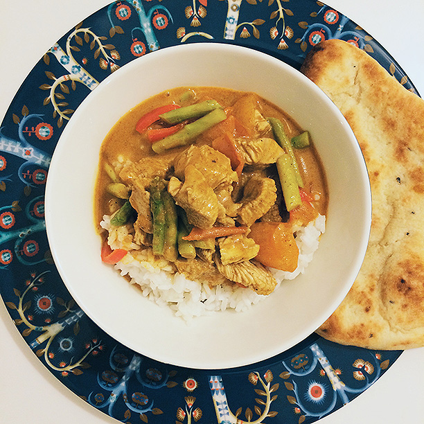 pellissimo UNDER CONSTRUCTION | Simple chicken curry