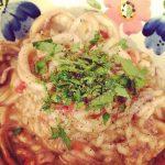Squid risotto