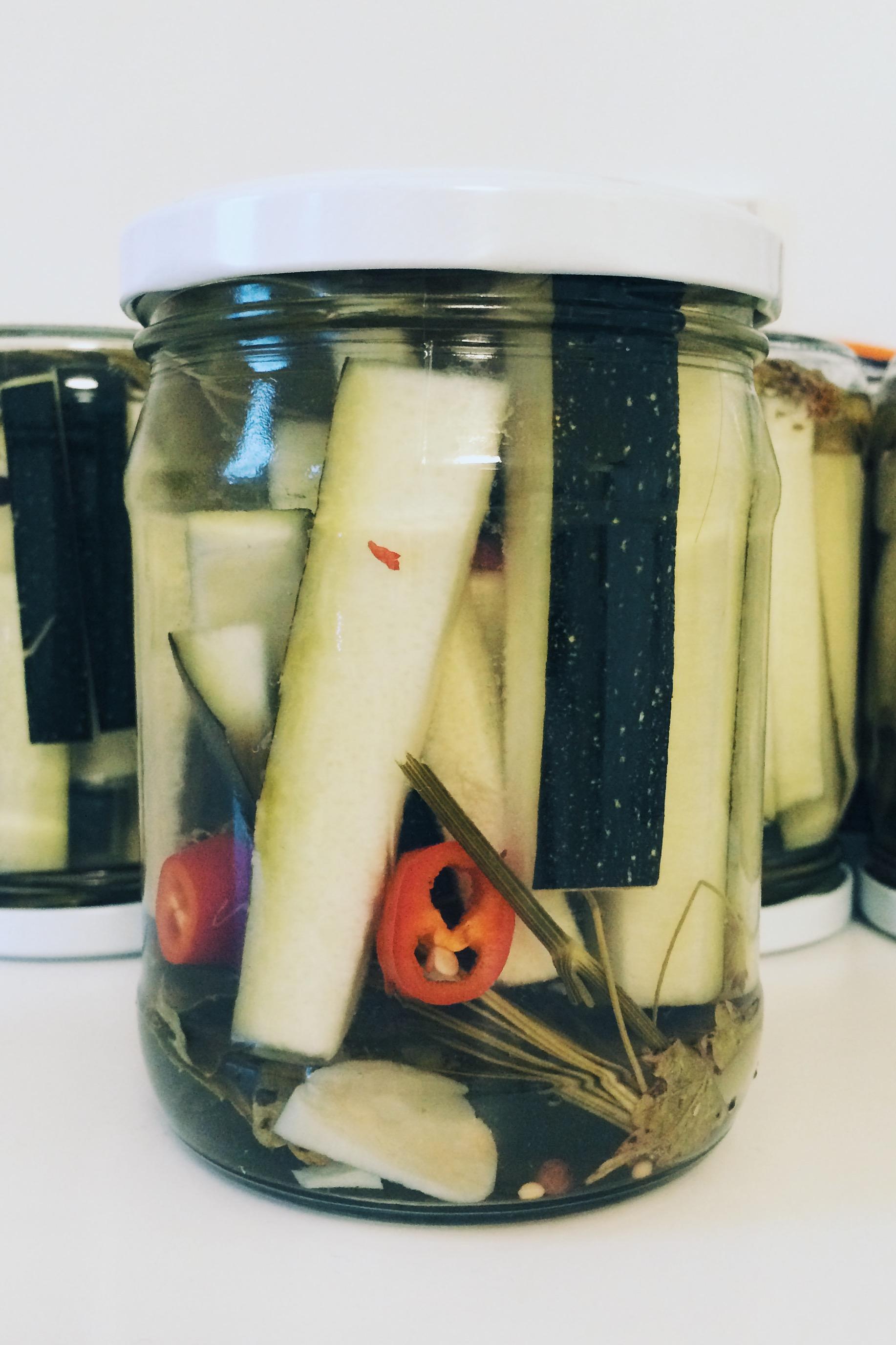 Marinated Zucchinis (pellissimo.ee)